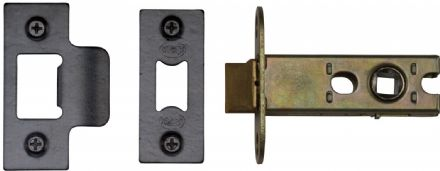 M Marcus York Security YKAL2-BLK Architectural Mortice Latch 64mm Black
